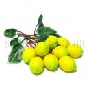 Веточка с искусственными лимонами