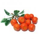 Веточка с искусственными апельсинами