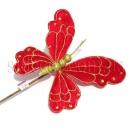 Бабочка декоративная большая