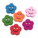 Цветочки пуговицы декоративные
