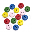 Мини пуговицы круглые разноцветные