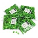 Зеленые граненые пайетки