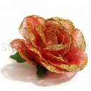 Головки роз из фатина