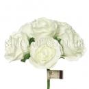 Розы из вспененного латекса