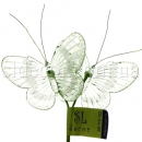 Бабочки на проволочке