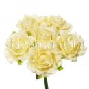 Розы из латекса шесть штук