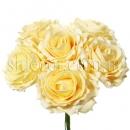 Крупные розы из латекса