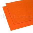 Фетр оранжевый 20х30см