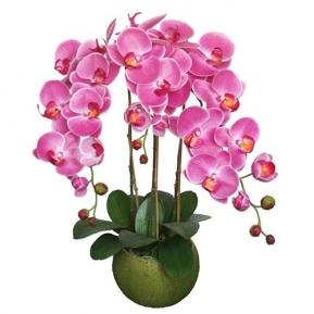 Купить искусственные цветы в горшках в интернет магазине недорого