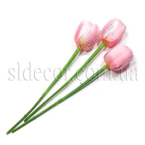 Маленький искусственный тюльпан без листьев
