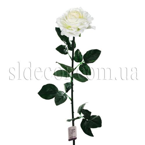 Искусственная роза белая