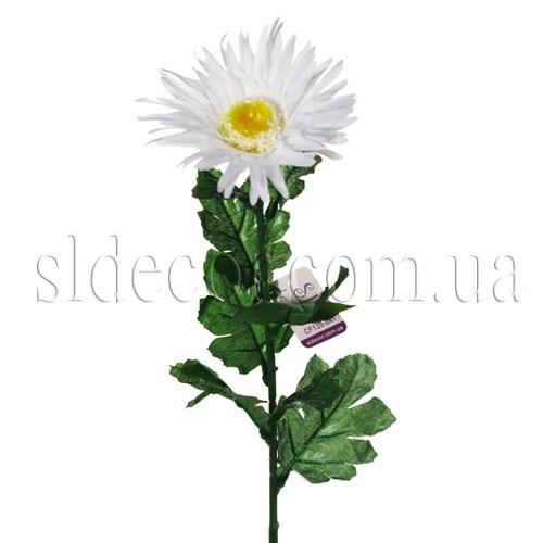 Искусственная хризантема белая