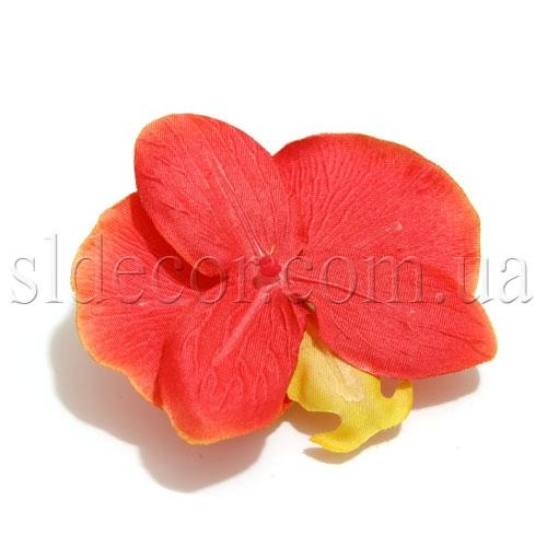 Головка орхиди красная