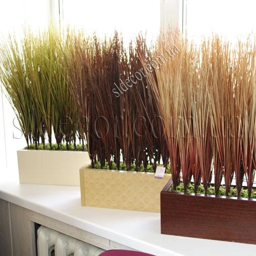 Искусственная трава в ящике