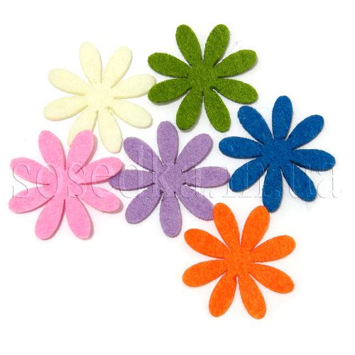 Цветы из фетра купить
