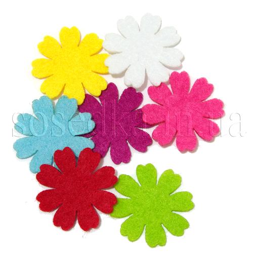 Войлочные изделия цветы