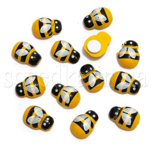 Пчелка на липучке