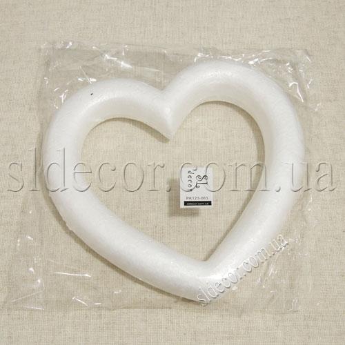 Сердечко из пенопласта в упаковке