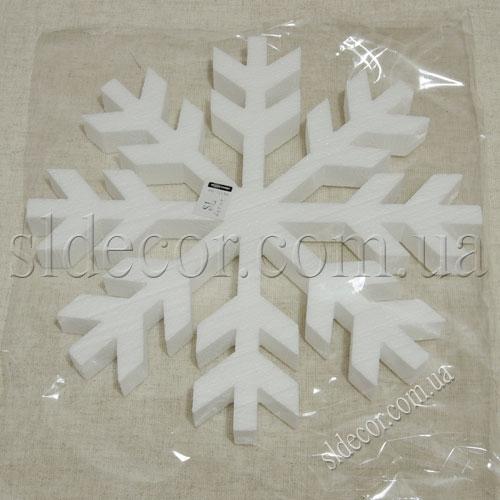 Заготовка из пенопласта снежинка