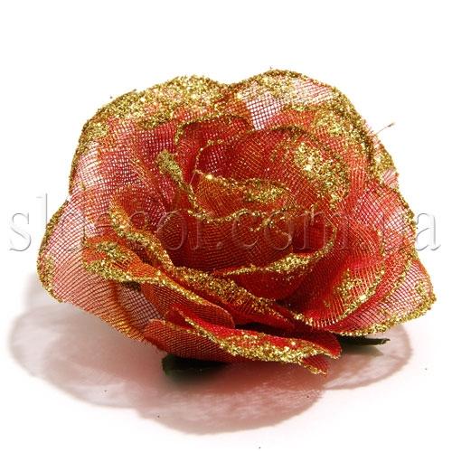 Роза головка для заколки