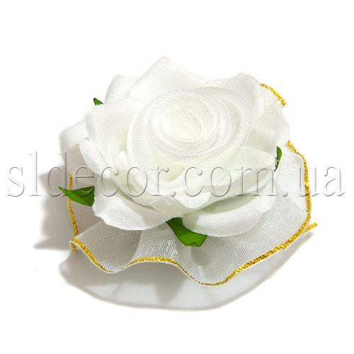 Головка белой розы