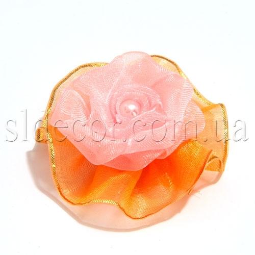 Головка розы декоративная