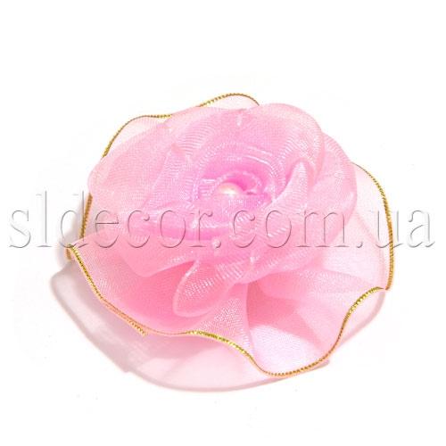 Головки роз. Материал: органза