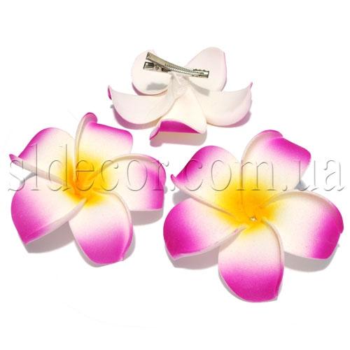 Гавайские цветы на заколках