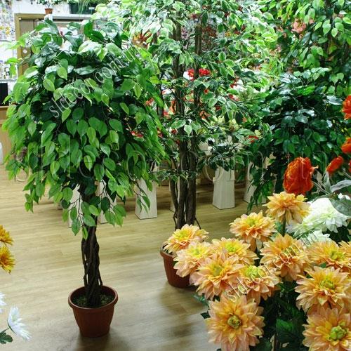 Искусственные деревья недорого купить