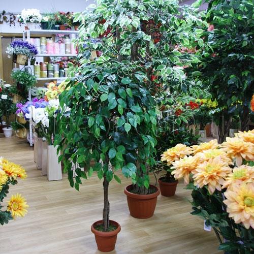 Искусственные растения в интерьере