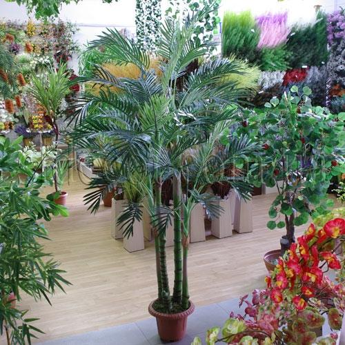 Пальма искусственная в интерьере