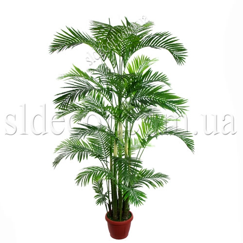 Высокие искусственные пальмы