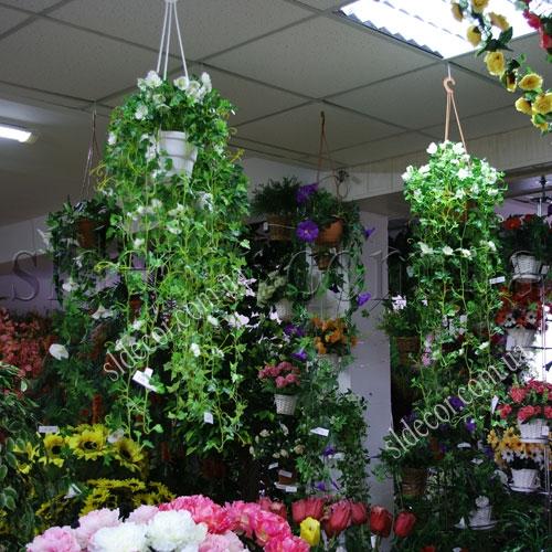 Искусственные растения для интерьера