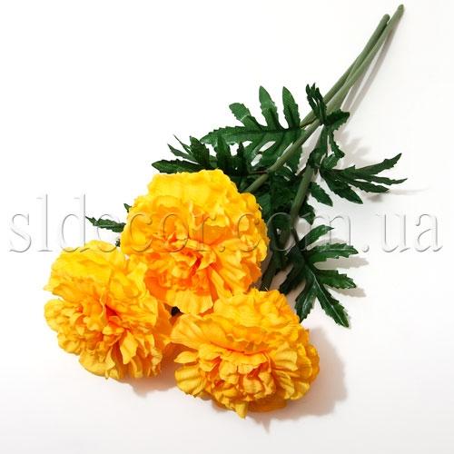 Искусственные цветы бархатцы
