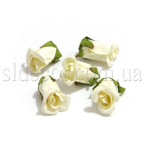 Маленькие бутончики бумажных роз