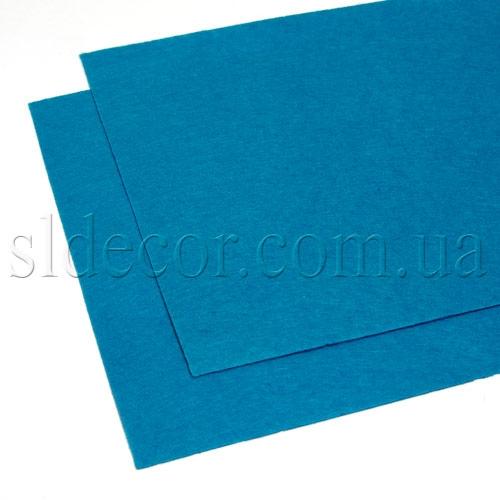 Фетр синий 20х30см
