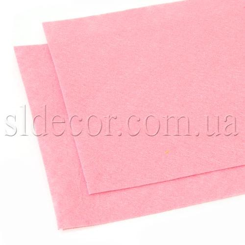 Фетр розовый 20х30см