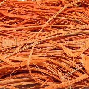Рафия оранжевая