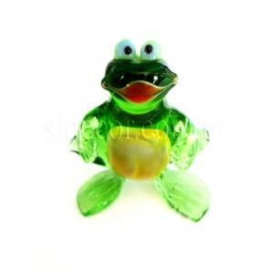 Стеклянный лягушонок