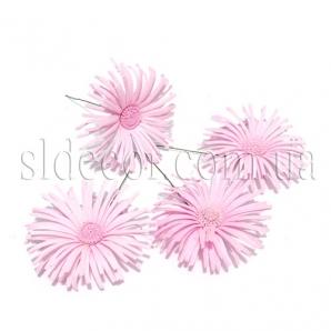 Головки хризантем латекс