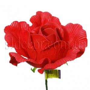 Головка розы из латекса