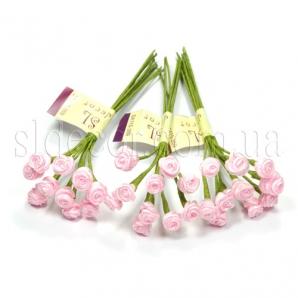 Розовые розочки мини