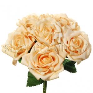 Розы из пенки