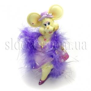 Мышка-дамочка