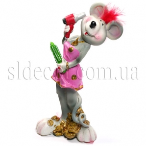 Сувенир мышка-модница