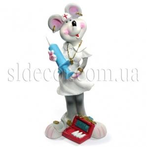Сувенир мышка-медсестра