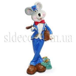 Сувенир мышонок-бизнесмен